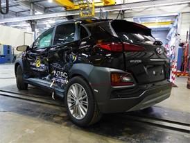 Hyundai KONA - Side crash test 2017 - after crash