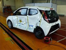 Toyota Aygo - Side crash test 2017 - after crash