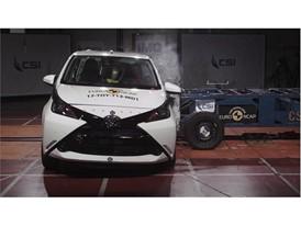 Toyota Aygo - Side crash test 2017