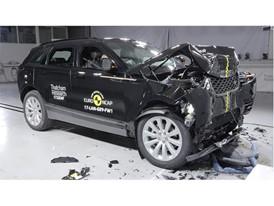 Range Rover Velar - Frontal Full Width test 2017 - after crash