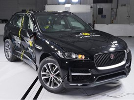 Jaguar F-Pace - Side crash test 2017 - after crash