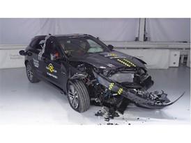 Jaguar F-Pace - Frontal Offset Impact test 2017 - after crash