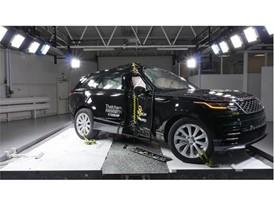 Range Rover Velar - Pole crash test 2017 - after crash
