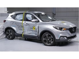 MG ZS - Side crash test 2017 - after crash