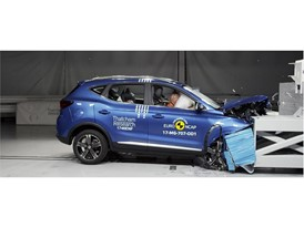MG ZS - Frontal Offset Impact test 2017