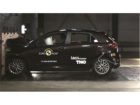 Kia Rio - Frontal Full Width test 2017