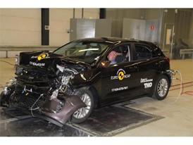 Kia Rio - Frontal Full Width test 2017 - after crash