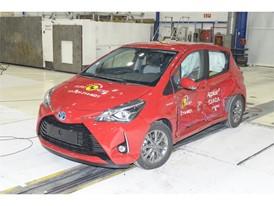 Toyota Yaris - Side crash test 2017 - after crash
