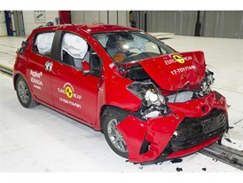 Toyota Yaris - Frontal Full Width test 2017 - after crash