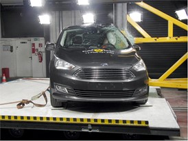 Ford Grand C-MAX - Pole crash test 2017