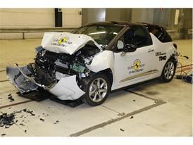 DS 3 - Frontal Full Width test 2017 - after crash