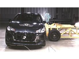 DS 3 - Side crash test 2017