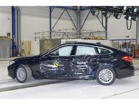 BMW 6 Series GT - Side crash test 2017 - after crash