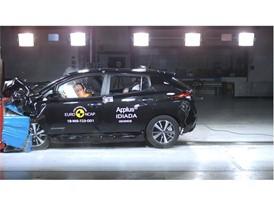 Nissan LEAF - Frontal Offset Impact test 2018