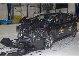 Nissan LEAF - Frontal Full Width test 2018 - after crash