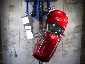 Mazda 6 - Pole crash test 2018 - after crash