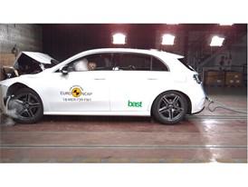 Mercedes-Benz A Class - Frontal Full Width test 2018