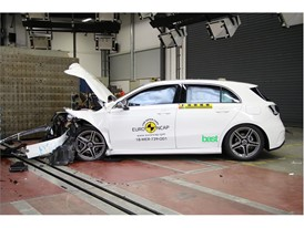 Mercedes-Benz A Class - Frontal Offset Impact test 2018 - after crash