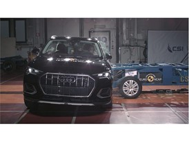 Audi Q3 - Side crash test 2018