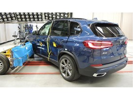 BMW X5 - Side crash test 2018 - after crash