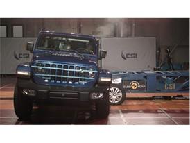 Jeep Wrangler - Side crash test 2018