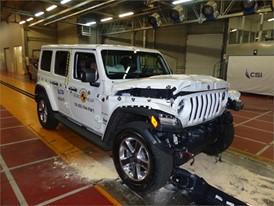 Jeep Wrangler - Frontal Full Width test 2018 - after crash
