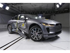 Jaguar I-PACE - Side crash test 2018 - after crash