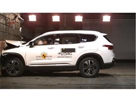 Hyundai Santa Fe - Frontal Full Width test 2018