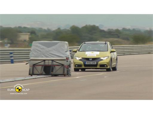 Honda Civic - AEB Tests 2013