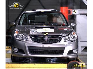 Subaru Legacy -  Euro NCAP Results 2009