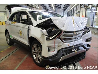Ford Edge - Euro NCAP Results 2016