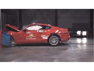 Ford Mustang - Euro NCAP Results 2017