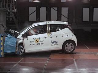 Toyota Aygo - Euro NCAP Results 2017