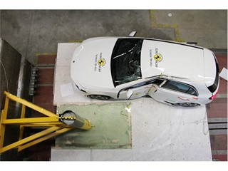 Mercedes-Benz A Class - Pole crash test 2018 - after crash