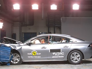 Peugeot 508 - Euro NCAP Results 2018