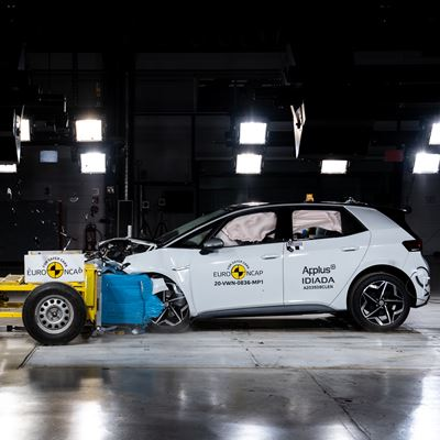 Volkswagen ID.3 - Euro NCAP 2020 Results - 5 stars
