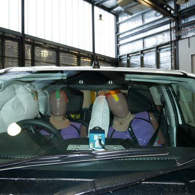 Isuzu D-Max - Far-Side impact test 2020 - after crash