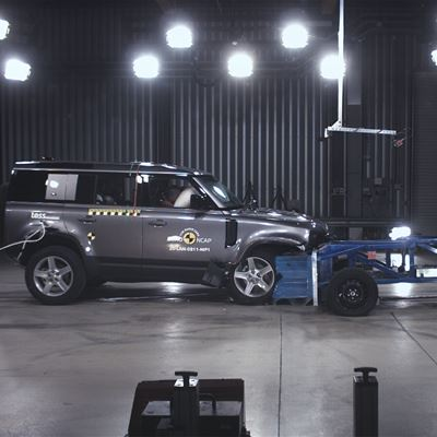 Land Rover Defender - Euro NCAP 2020 Results - 5 stars