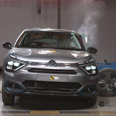 Citroën ë-C4 - Side Mobile Barrier test 2021