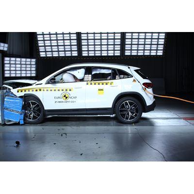 Mercedes-EQ EQA - Euro NCAP 2019 Results - 5 stars