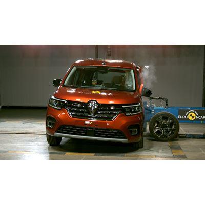 Renault Kangoo - Side Mobile Barrier test 2021