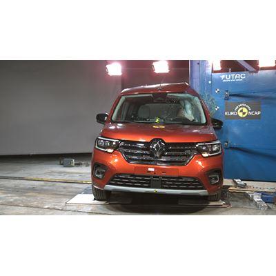Renault Kangoo - Side Pole test 2021