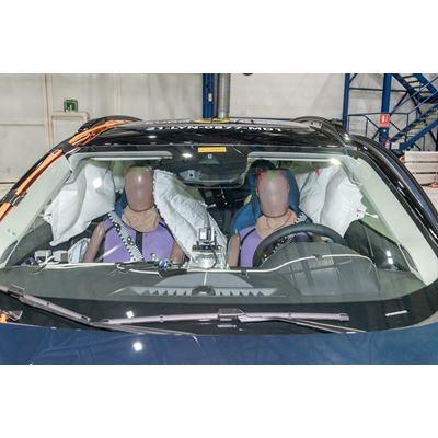 Lynk & Co 01 - Far-Side impact test 2021 - after crash