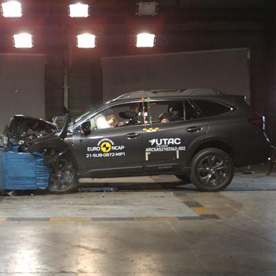 Subaru Outback - Euro NCAP 2021 Results - 5 stars
