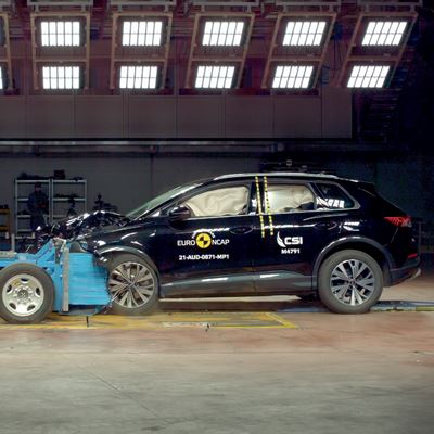 Audi Q4 e-tron - Euro NCAP 2021 Results - 5 stars