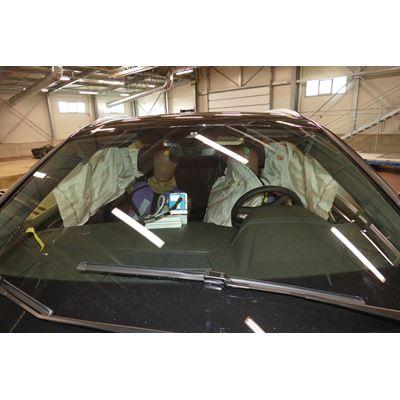 Audi Q4 e-tron - Far-Side impact test 2021 - after crash