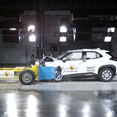 Toyota Yaris Cross - Euro NCAP 2021 Results - 5 stars