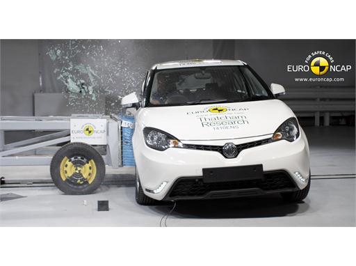 MG3  - Side crash test 2014