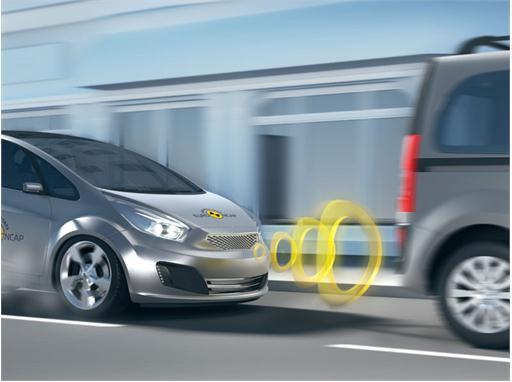 Study Confirms High Effectiveness of Low Speed Autonomous Emergency Braking (AEB)