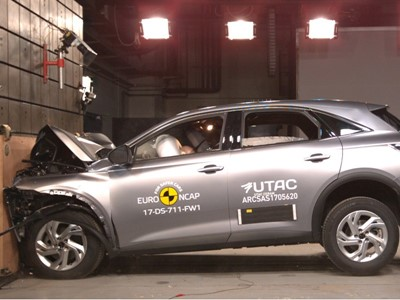DS 7 Crossback - Euro NCAP Results 2017